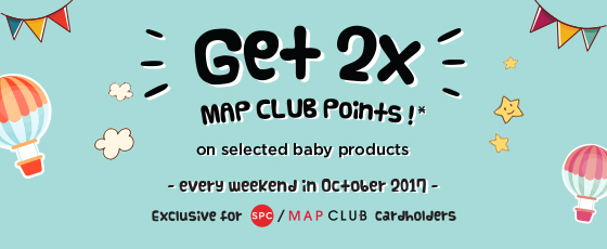 BANNER KIDS 2x MAP CLUB POINTS