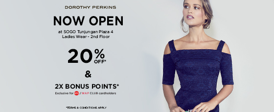 Event and Offer Doroty Perkins