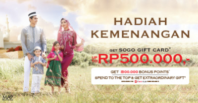 Hadiah Kemenagan website SOGO-feature