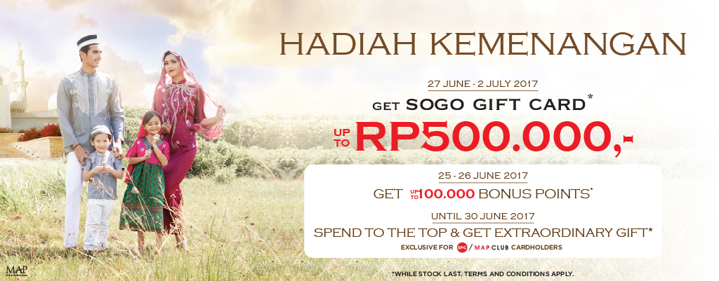 Hadiah Kemenagan website SOGO-isi
