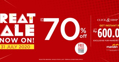 SOGO Great Sale (extend until 31 July 2020) - Landing Page (1750x650 px)